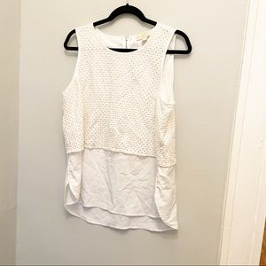 Michael Michael Kors White Tiered Top 14